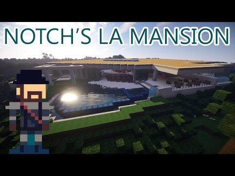 Of Course Someone Made Notch's $US70 Million Mansion In Minecraft