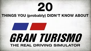 20 Interesting Facts About Gran Turismo