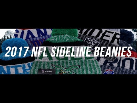 Knit Foot Ball Beanies | 2018 Sideline Fleece lined beanies