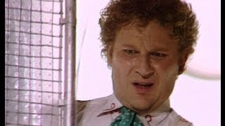 The Doctor escapes an acid bath