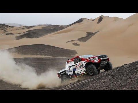 Toyota diep onder de indruk van Ten Brinke - RTL GP: DAKAR