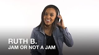 Jamin' out with this year's The JUNO Awards Breakthrough Artist of the Year Ruth B