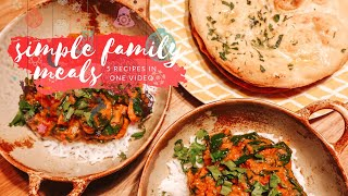 5 FAMILY MEAL IDEAS - WHAT MY FAMILY EAT - WEEK OF MEALS