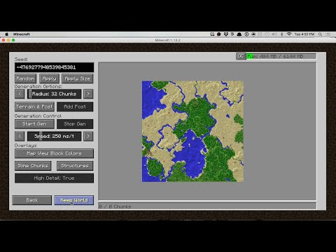 Mods to Preview Minecraft Worlds Quick - Chunk Pregenerator, Amidst for Forge and JourneyMap