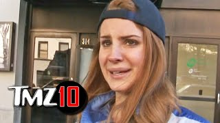 Our Camera Guy Gets A Date With Lana Del Rey? TOP 10 Awkward Encounters | TMZ - Video Youtube