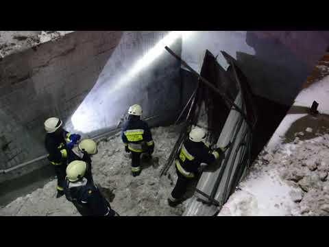 В подземном переходе Днепра обвалилась крыша (ВИДЕО)