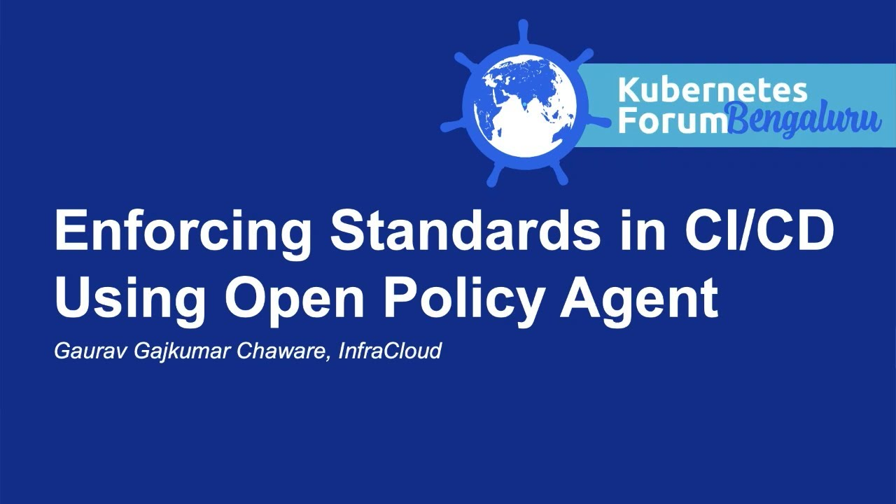 Enforcing Standards in CI/CD Using Open Policy Agent