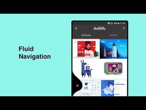 Vídeo do Fluid Navigation Gestures