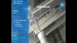 OSG WDO-SUS-5D VHM-Bohrer mit Innenkühlung für rostfreie Stähle