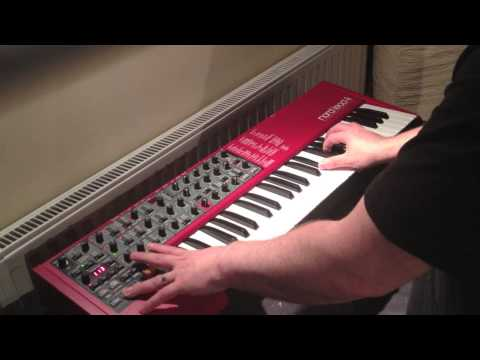 JD73 Nord Lead 4 Sound Bank Demo.