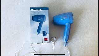 Фен которому 20 лет?! :) Rowenta Hairstyle 1200