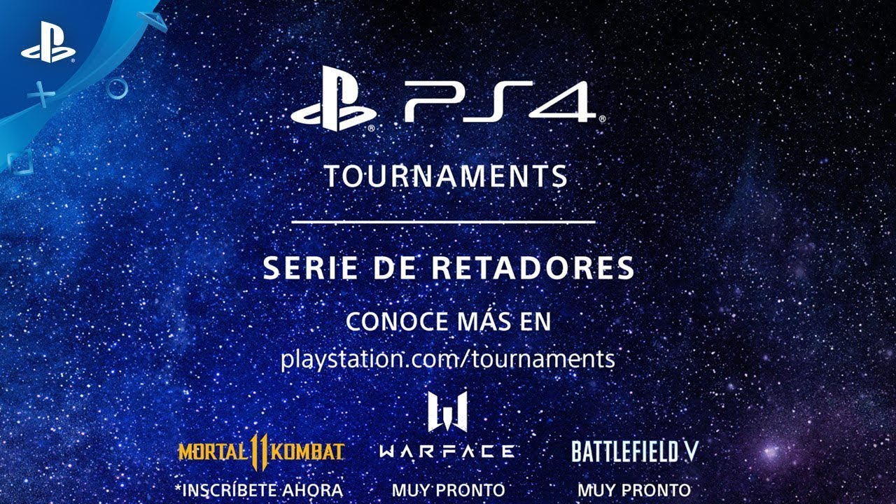 Presentamos los PS4 Tournaments: Serie de Retadores