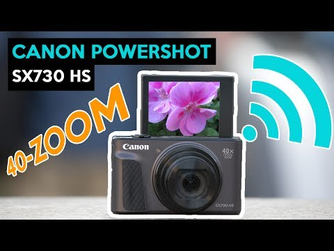 Canon PowerShot SX730 HS | 40-FACH ZOOM | VLOGGING KAMERA | deutsch Review