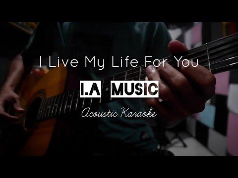 Firehouse - I Live My Life For You | Karaoke Acoustic