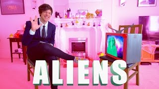 hey hey tiny planet explorers this week I interview a REAL SPACE ALIEN check it out
