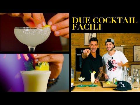 Due Cocktails Facili : Margarita e Piña Colada - BARMAN - Claudio Peri | Cucina da Uomini