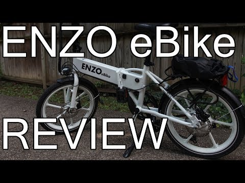 Enzo eBike – Folding Electric Bicycle Review