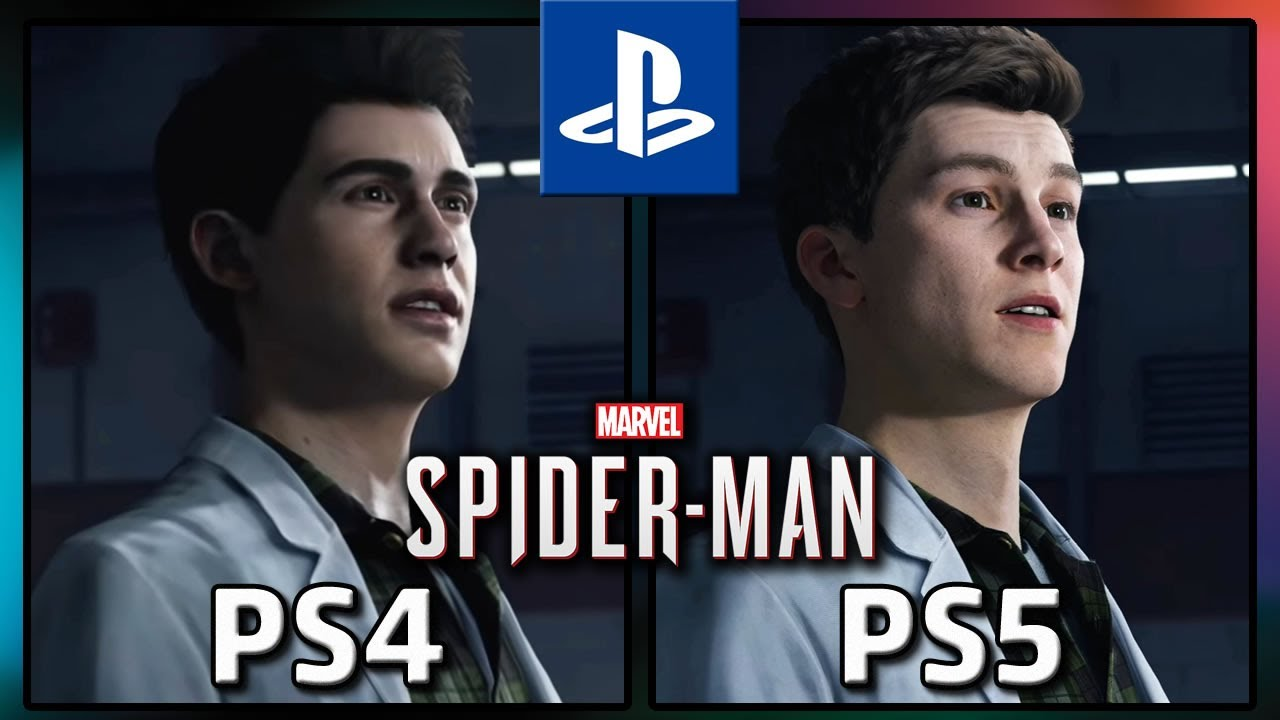 Marvel's Spider-Man | PS4 VS PS5 | Graphics Comparison and info