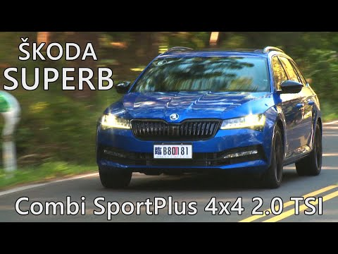 Škoda Superb Combi SportPlus 4x4 墾丁落山風超級大試駕!