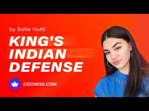 Play the King's Indian Defense by Sofie Huttl on CoChess.com