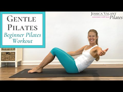 Gentle Pilates - 15 Minute Pilates for Beginners Workout!