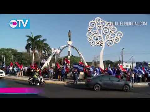 Claman por la Paz y el Diálogo en Amor a Nicaragua