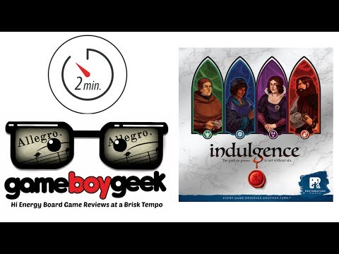 The Game Boy Geek's (Allegro 2-min) Review of Indulgence