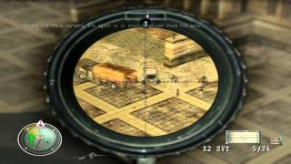 Sniper Elite - Level 8 - Extract Agent - French Cathedral
