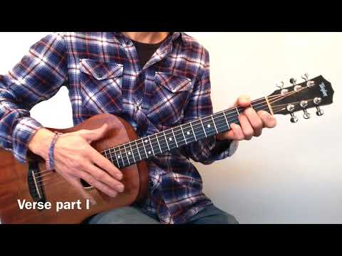 How to Play Hallelujah by Leonard Cohen / Jeff Buckley Fingerpicking Guitar Lesson