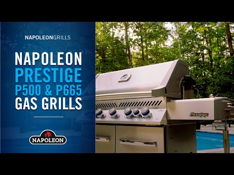 Napoleon's Prestige Series Gas Grills Product Video