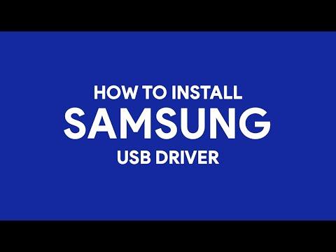 How To Install Samsung USB Driver - [romshillzz]