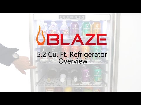 Blaze 5.2 Cu. Ft. Outdoor Compact Refrigerator Overview