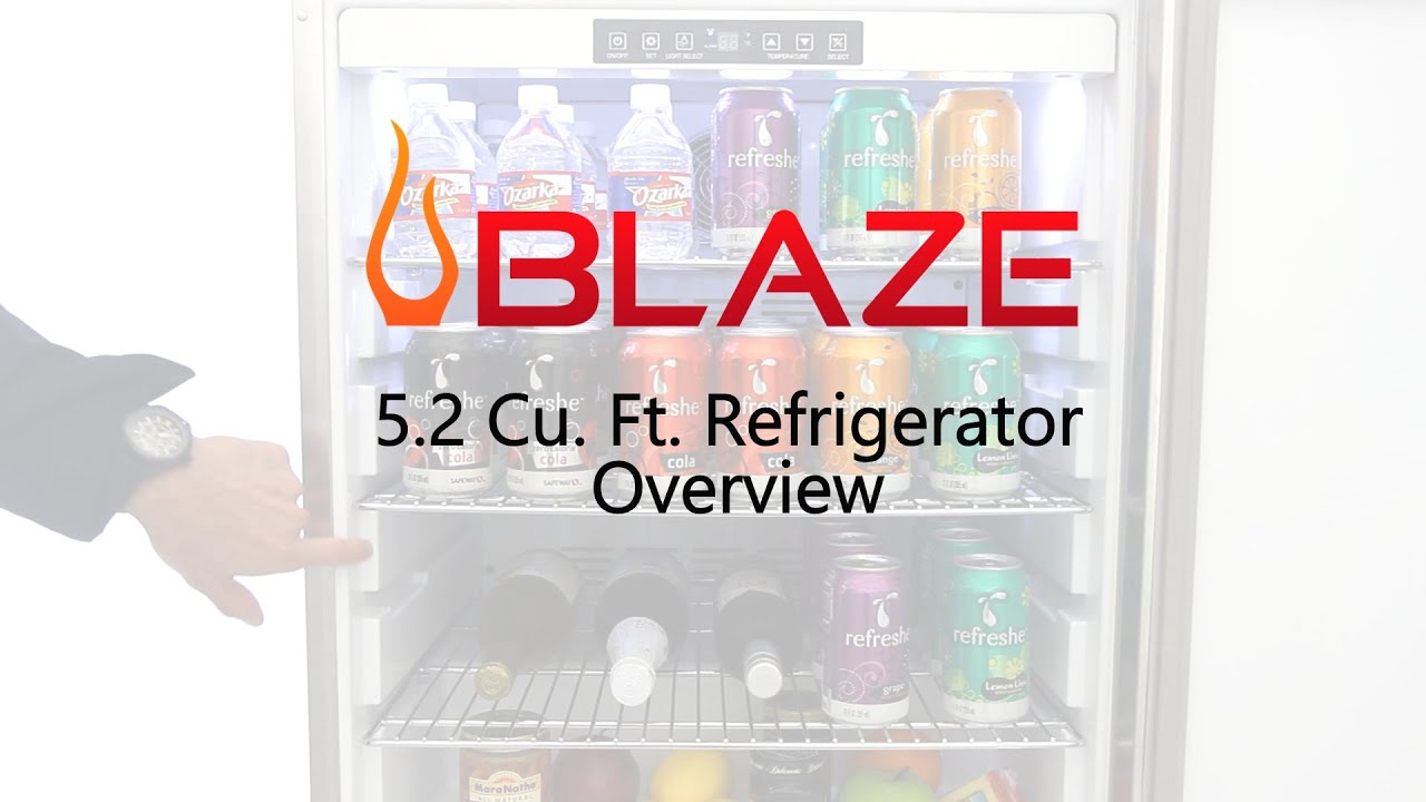 Blaze 24 Inch 5 2 Cu Ft Outdoor Rated Compact