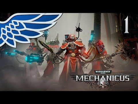 MECHANICUS | Necron Tomb Part 1 - Warhammer 40k Mechanicus Let's Play Gameplay