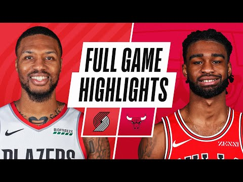 TRAIL BLAZERS at BULLS | FULL GAME HIGHLIGHTS | January 30, 2021
