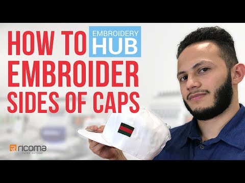 Embroidery Hub Ep. 11: How To Embroider Side Of Hat | Hat Embroidery Tutorial Mp3