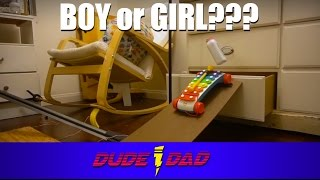 Rube Goldberg Machine Baby Gender Reveal