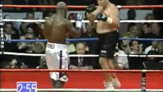 """Evander """"The Real Deal"""" Holyfield vs Frans Botha - Heavyweight Contest - Part 1/2"""