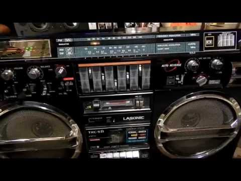 Lasonic TRC-931*Ghetto Blaster repair*