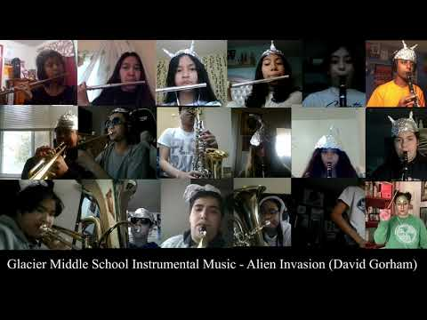 My middle school band performing Alien Invasion during COVID-19 distance learning.