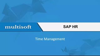 Learning Time Management in SAP HR Online Training Video