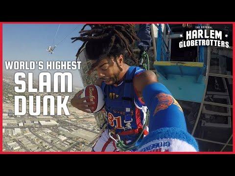 World's Highest Slam Dunk | Harlem Globetrotters