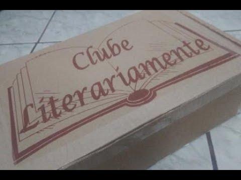 Unboxing Clube Literariamente - Caixa de Lançamento