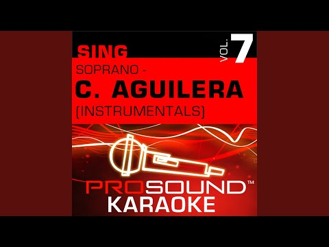 Love For All Seasons (Karaoke Instrumental Track) (In the Style of Christina Aguilera)