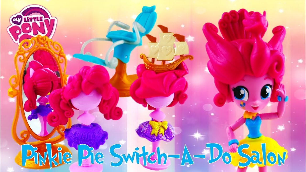 Pinkie Pie Hair Show! Switch A Do Salon Playset Toy Review My Little Pony Equestria Girls Mini