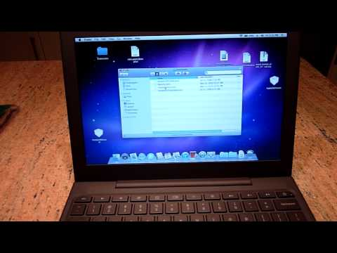Mac OS X Running On A Cr-48 Brings Back Memories Of The Black MacBook