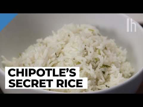 Make Lime Rice With Coriander Stems