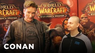 """Conan Plays """"World Of Warcraft"""" At BlizzCon"""