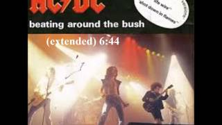 Beating around the bush (extended) - ACDC