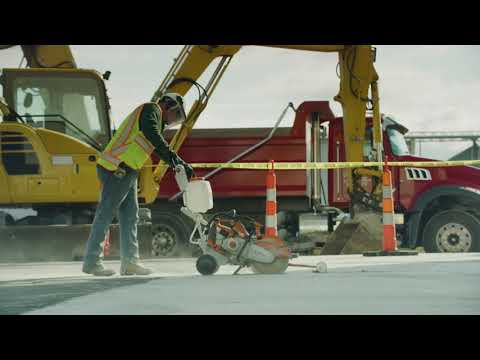 Stihl TS 420 Cutquik in Kerrville, Texas - Video 2